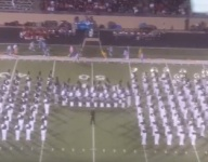 VIDEO: Holy cow, the Allen Eagles marching band is absolutely enormous