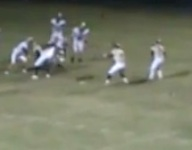 VIDEO: Front flip distraction technique makes for strangest trick play TD of season