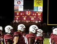 No. 12 Mill Creek (Ga.) sprints to lead and rolls to 62-0 victory