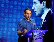 Coach K wants recruits who are 'confident in the skin they have'