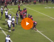 VIDEO: La. defensive lineman tips ball to himself for interception, returns it for TD