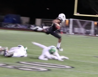 VIDEO: Calabasas (Calif.) star Brendan Radley-Hiles dominates both sides of the ball