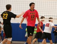 Section V boys volleyball loaded, setting table for states