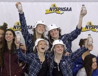 Pittsford girls swimming team machine gears up for Victor