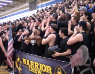 Schroeder's student section finalist for award