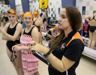 Churchville-Chili swimming's Swalbach connects with kids