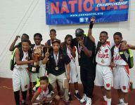 AAU basketball team returns a champion