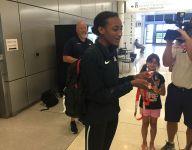 Watson returns from world junior track