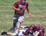 Arcadia linemen to lead drive toward sectional title