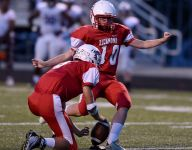 She may be a girl, but RHS kicker was 'one of the guys'