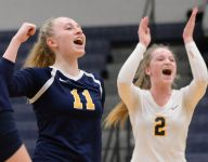 Haslett volleyball sweeps Williamston, advances to district title game