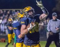 Climax-Scotts tops rival Mendon in playoffs, 28-14