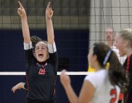 Penfield sweeps Victor for Class AA volleyball title