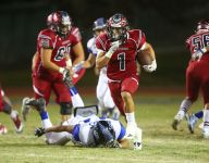 Blackhawks catch fire in second half to torch Lions 62-14