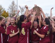 Feighan hat trick sends Arlington to girls soccer state semis
