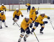 Pelham gets right to work on another Section 1 hockey title