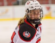 Christa Moody making most of ice time at D1 St. Cloud St.