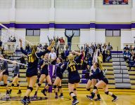Haslett volleyball upsets No. 8-ranked Grand Rapids South Christian