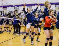 Lakewood volleyball sweeps Haslett for regional title