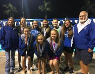 Titusville girls third at 2A state swimming