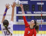 Laingsburg's run ends in Class C volleyball quarterfinals