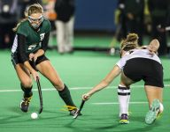 Four-goal second half leads Hillers to DIAA field hockey final