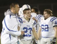 Haldane football overmatched by Cambridge in state semis