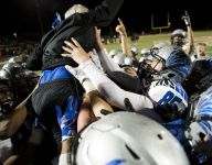 Rhett Rodriguez, son of Arizona coach, accounts for 7 TDs; leads Catalina Foothills to first state final