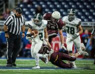 GR West Catholic blows by Menominee, 43-7, in Division 5 title game