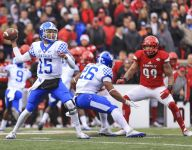 Roundup: Former COD quarterback Stephen Johnson leads Kentucky to upset