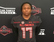 Anthony McFarland Jr. receives Under Armour All-America jersey