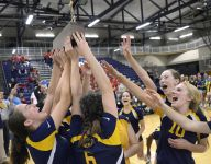 Pittsford Sutherland wins Class A girls volleyball