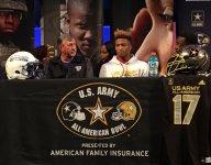 Trinity Christian teammates Shaun Wade, D.J. Matthews celebrate U.S. Army All-American selection together