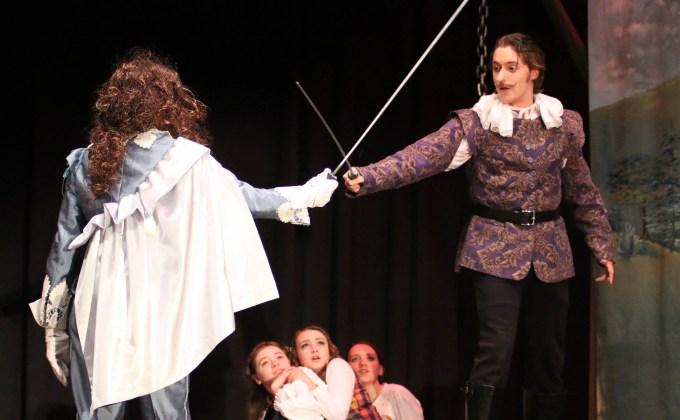Cyrano de Bergerac showcased at high school auditorium tonight and tomorrow