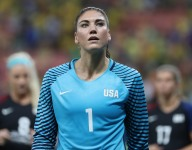 Hope Solo honored in high school hometown with patriotic photo over Thanksgiving