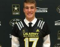 No. 1 quarterback Hunter Johnson receives Army All-American jersey