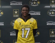 Oklahoma commit Isaiah Thomas receives Army All-American jersey