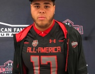 Jedrick Wills reps state of Kentucky at Under Armour All-America Game