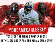 #DreamFearlessly Fan Vote winners announced, set for Under Armour All-America Game