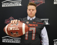 Massive Texas guard Jack Anderson receives Under Armour All-America jersey
