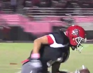 VIDEO: DBs collide in crushing hit, ball pops loose and receiver scoops for TD