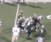 VIDEO: Emmitt Smith's son, E.J., drags five tacklers in a Texas freshman football game