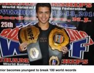 Evan Pittman breaks 100 lifetime powerlifting records while still in high school
