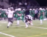 VIDEO: With game on line, Va. team takes blocked FG back for game-winning TD