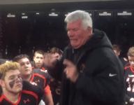 VIDEO: Mass. coach gives tremendous pregame speech before final Thanksgiving game