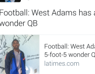 VIDEO: California QB is 5-foot-5 and amazing