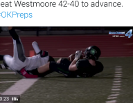 Bob Stoops' son, Drake, makes sensational one-handed TD grab in playoff win