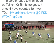 VIDEO: Calif. WR avoids all the tackles, takes screen pass for long TD