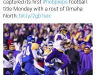 Nebraska running back scored state-record 50 TDs this year