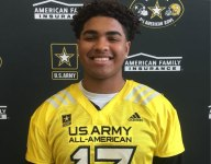 VIDEO: Army All-American Tristan Wirfs is 6-5, 290 and can walk on his hands